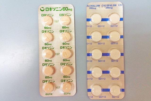 【基礎知識】解熱鎮痛薬のロキソニンとカロナール。1分でわかる、作用や効果・副作用の違い